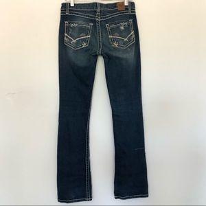 BKE Lexi stretch jeans 28x33.5